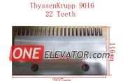 Thyssen Escalator comb plate