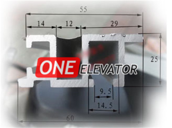 Lehy Ii Type Car Door Sill Hall Door Sill One Stop Elevator Supplier